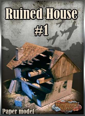 Ruined house 1 war