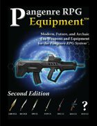 Pangenre RPG Equipment - Second Edition
