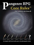 Pangenre RPG Core Rules (1st Edition)