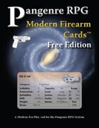 Pangenre RPG Modern Firearm Cards