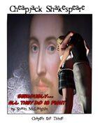 Cheapjack Shakespeare: Graphic Novel Play Breaks Records
