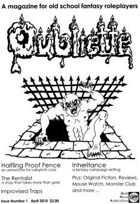 OUBLIETTE Issue 1