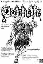 OUBLIETTE Issue 3