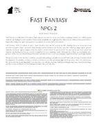 Fast Fantasy: NPCs 2