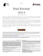 Fast Fantasy: NPCs 4