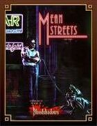 Bloodshadows: Mean Streets (Classic Reprint)