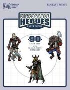 Disposable Heroes Paper Minis (Fantasy)