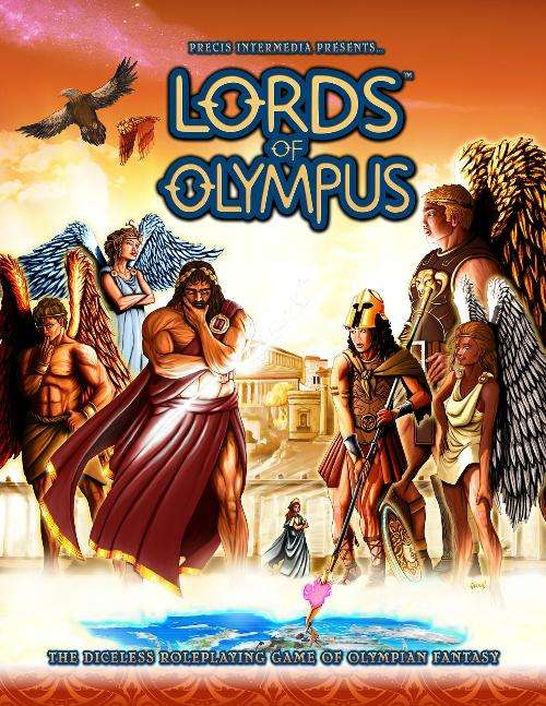 Lords of Olympus Diceless RPG