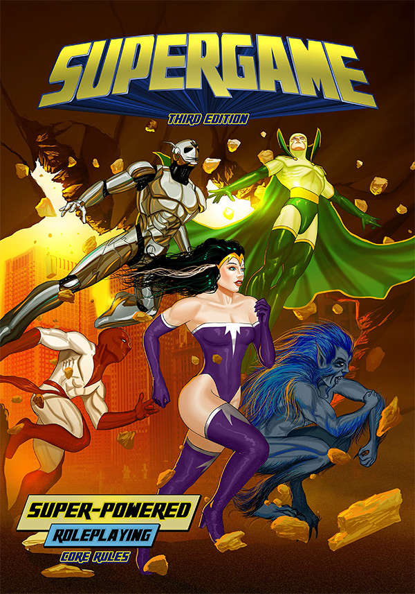 Supergame: Super-Powered RPG (3rd Edition)
