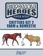 Disposable Heroes: Critters Set 2 (Farm & Domestic)