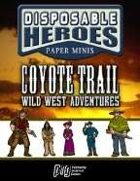 Disposable Heroes: Western Set 1