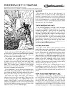 The Curse of the Templar (Darkwood)