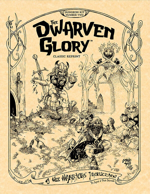 Cover of V2 The Dwarven Glory