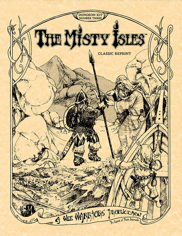Cover of V3 The Misty Isles