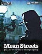 Mean Streets RPG (Core GDi PDF)