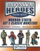 Disposable Heroes Horror Statix 1: Classic Monsters