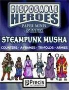 Disposable Heroes Steampunk Musha Statix