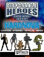 Disposable Heroes Sci-Fi Statix 1: HardNova