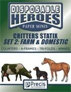 Disposable Heroes Critters Statix 2: Farm & Domestic