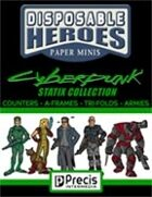 Disposable Heroes Cyberpunk Statix Collection [BUNDLE]
