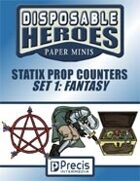 Disposable Heroes Fantasy Statix Prop Counters