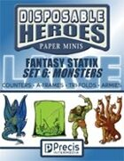 Disposable Heroes Fantasy Statix 6: Monsters