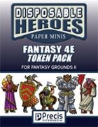 Disposable Heroes: Fantasy 4E Token Pack for Fantasy Grounds II
