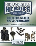 Disposable Heroes Critters Statix 3: Familiars