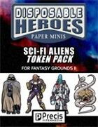 Disposable Heroes: Sci-Fi Aliens Token Pack for Fantasy Grounds II