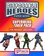 Disposable Heroes: Supers Token Pack for Fantasy Grounds II