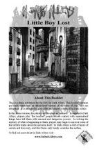 In Dark Alleys: Little Boy Lost