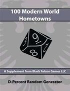 D-Percent - 100 Modern World Hometowns