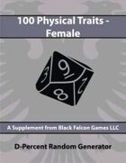 D-Percent - 100 Physical Traits - Female