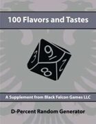 D-Percent - 100 Flavors and Tastes