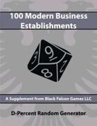 D-Percent - 100 Modern Business Establishments