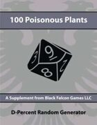 D-Percent - 100 Poisonous Plants