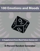 D-Percent - 100 Emotions and Moods