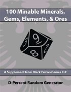 D-Percent - Minable Minerals, Gems, Elements, & Ores
