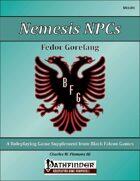 Nemesis NPCs - Fedor Gorefang [PFRPG]