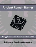 D-Percent - Ancient Roman Names