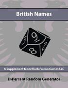 D-Percent - British Names