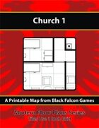 Modern Floor Plans - Church 1