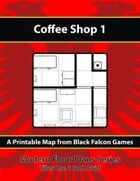 Modern Floor Plans - Coffee Shop 1