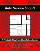 Modern Floor Plans - Auto Service Shop 1