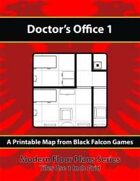 Modern Floor Plans - Doctor's Office 1
