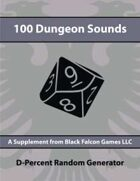 D-Percent - 100 Dungeon Sounds