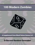D-Percent - 100 Modern Zombies