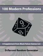 D-Percent - 100 Modern Professions
