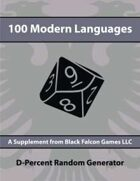 D-Percent - 100 Modern Languages