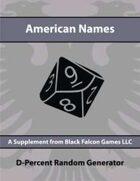 D-Percent - American Names